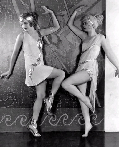 Alice Adair and Maria Corda , 1927